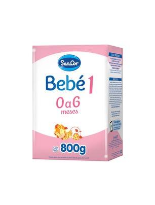 SanCor Bebé Leche Infantil Polvo Sabor Original 800 gr