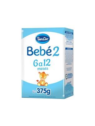 SanCor Bebé Leche Infantil Polvo Sabor Original 375 gr