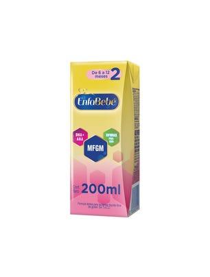 EnfaBebé Leche Infantil Liquida Sabor Original 200 ml