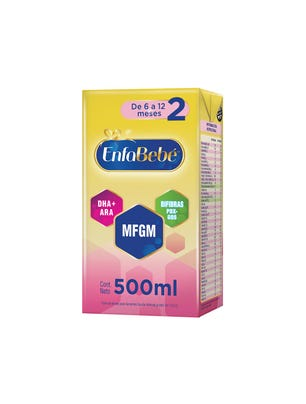EnfaBebé Leche Infantil Liquida Sabor Original 500 ml
