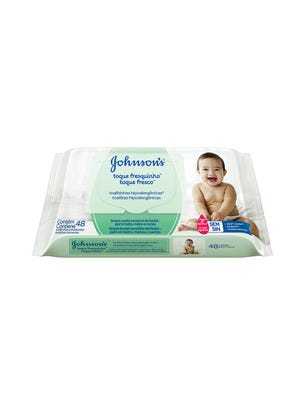 Toallitas Húmedas para Bebé Toque fresco x 96 un.