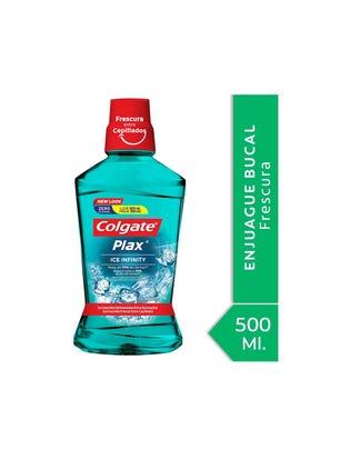 Enjuague Bucal Plax Ice Infinity 500 ml