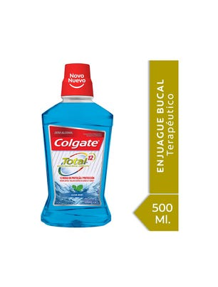Enjuague Bucal Total 12 Clean Mint 500 ml