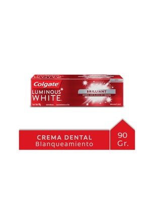 Crema Dental Luminous White 90 gr