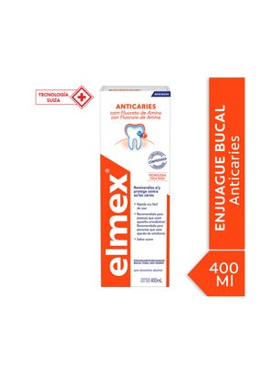 Enjuague Bucal Elmex Anticavity 400 ml