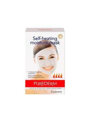 Máscara Facial Self Heating x 3 sobres