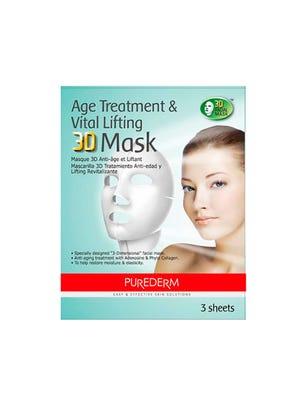 Máscara 3D Age Treatment & Vital Lifting x 3 sobres
