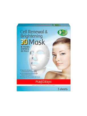 Máscara 3D Cell Renewall and Brightening x 3 sobres