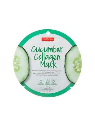 Purederm Mascara Facial Iluminadora con Colageno y Pepino