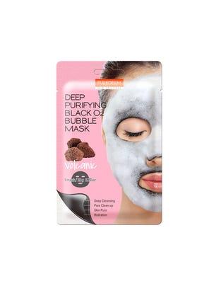 Máscara Facial Volcanic Deep Puryfing Black O2 Bubble