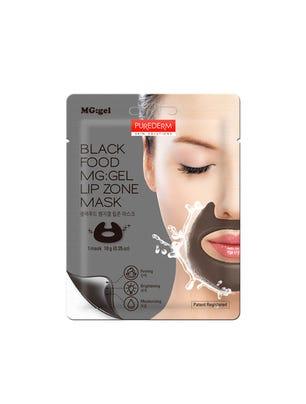 Máscara Gel Lip Black Food Recipe MG