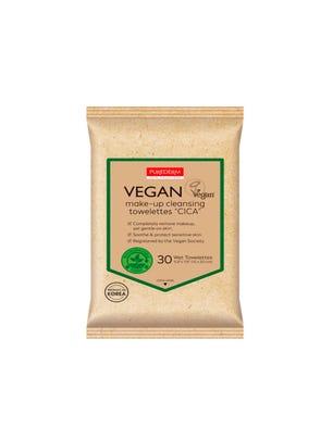 Purederm Toallitas Desmaquillantes Vegana