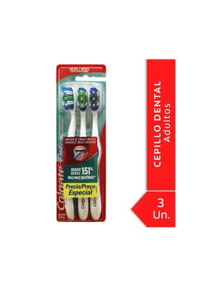 Cepillo Dental 360 Medio Pack x3