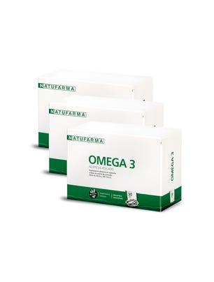 COMBO NATUFARMA OMEGA 3 x 30 cápsulas