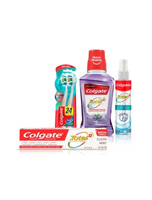 Kit Higiene Bucal Colgate Total 5 Unidades