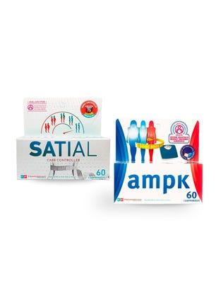 Combo Satial Comprimidos & AMPK 60 comprimidos