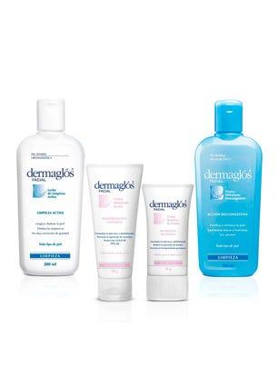 Dermaglós Cuidado Facial  Piel Seca a Muy Seca