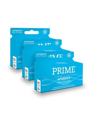 Pack 3 Prime Profilácticos Retardantes x 12